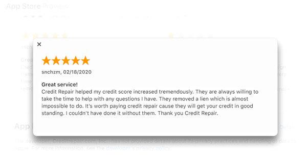 creditrepair.com reviews App Store app