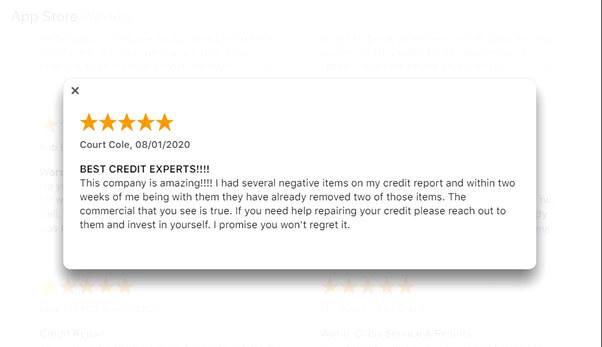 creditrepair.com good reviews