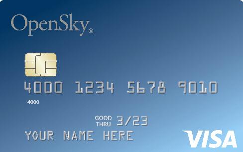 OpenSky Secured Credit Visa