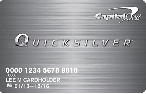 QuicksilverOne Cash Rewards Credit Card