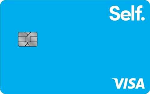 Self Credit Builder Secured Visa