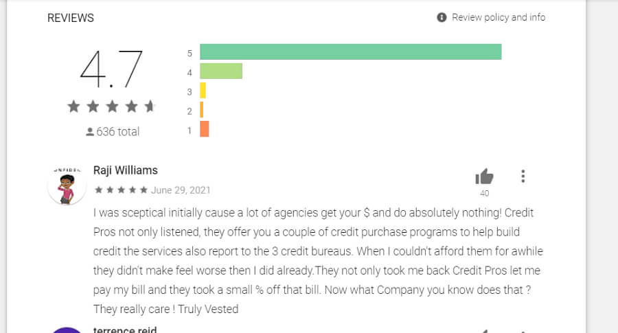 The Credit Pros app review
